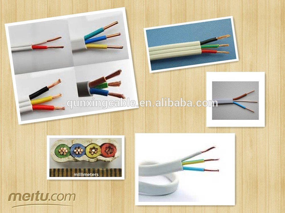 PVC insulated wire for build Copper Multicore & Circular TPS 2 Core cable to AS/NZS 5000.2