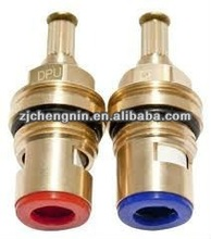 G1/2 Poland 20teeth spline brass faucet ceramic disc brass tap valve cartridge