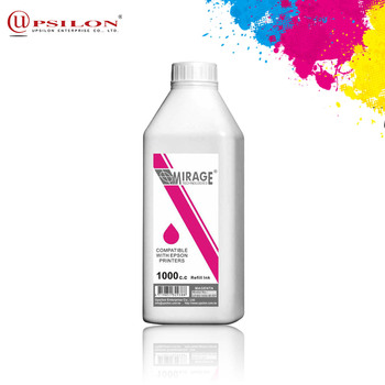 Magenta Color Liquid Textile Printer Ink For Canon Printer Ink