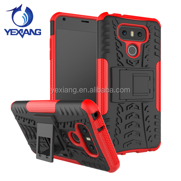 Heavy Duty Hard Impact Shockproof Hybrid Case For LG G6 TPU PC Back Cover