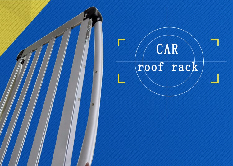 Customized aluminum automotive roof rack_OEM factory supplier