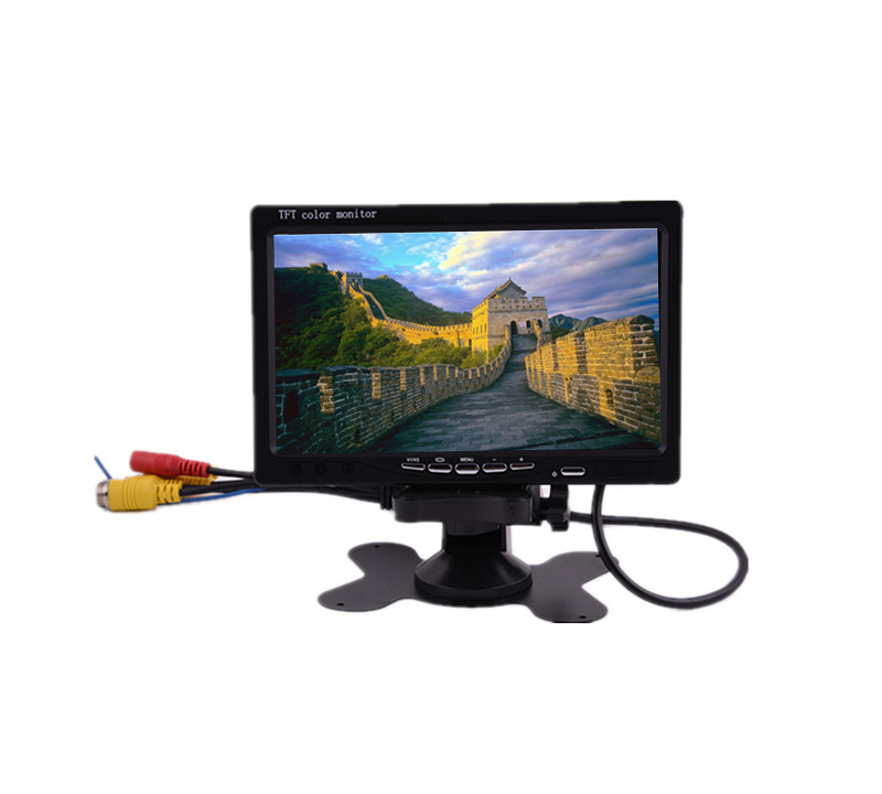 7 inch TFT lcd <strong>monitor</strong> with AV VGA input <strong>monitor</strong>