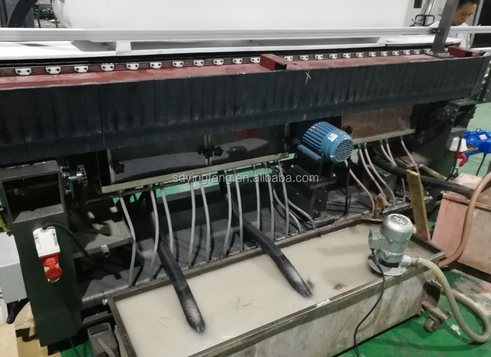 JFB-261 Popular 9 motors glass bevel edge processing machine with CE certificate
