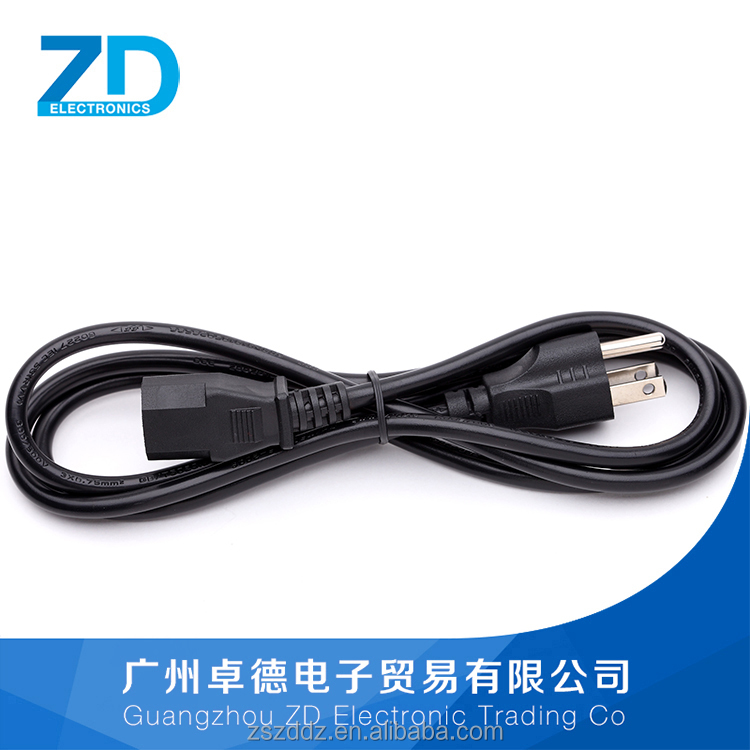 D20 CN US Standard Extension AC Power Cable For Home Appliance