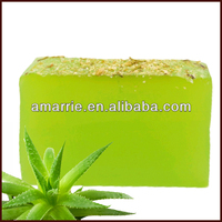 Best 100% Herbal Organic Aloe Vera Clear Glycerin Face HandCrafted Bar Soap