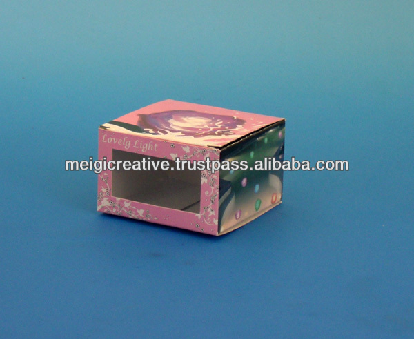 Custom Paper Folding Box for Beauty Products, Cosmetic Packaging