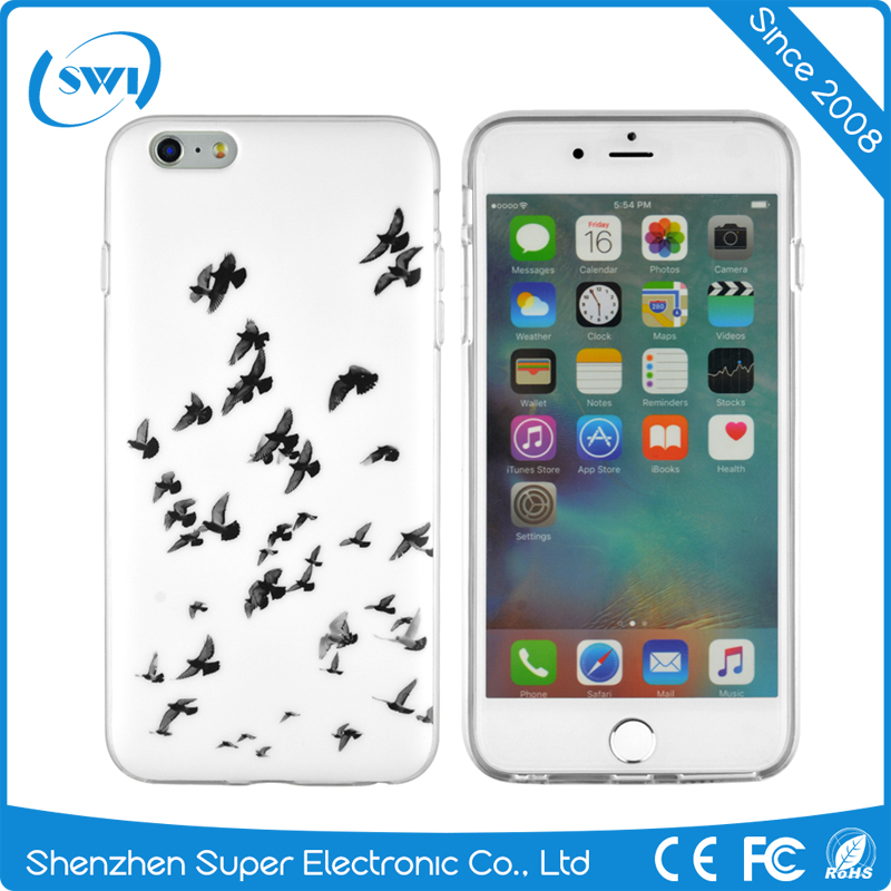 Wholesale price customized IMD TPU cellphone case for iphone 6 plus,soft cases for iphone 6 plus