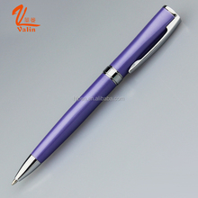 Valin new design promotional pen slim unique ballpoint and roller pen with 0.7 mm refill