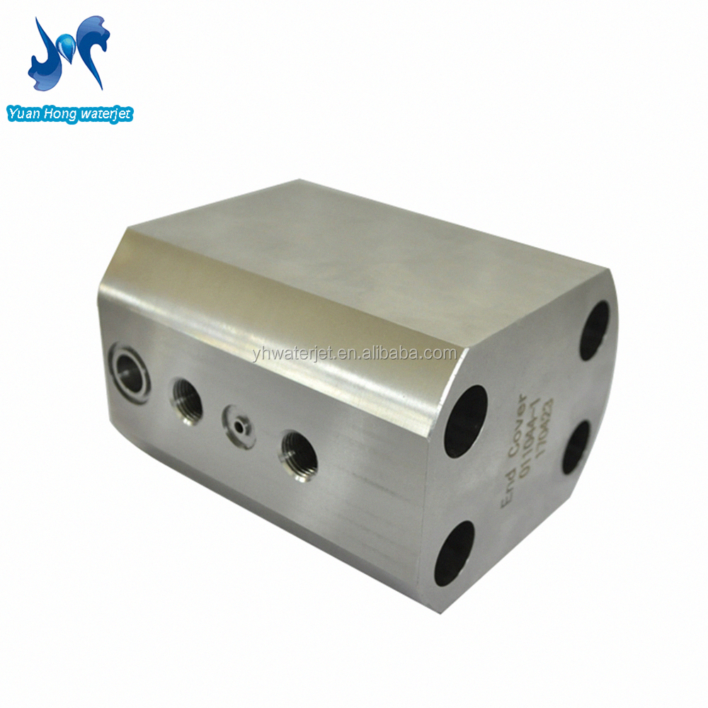 High cutting speed water jet cutting pump parts