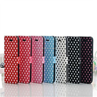Luxury Pattern Wallet Leather Case for iPhone 5/5S