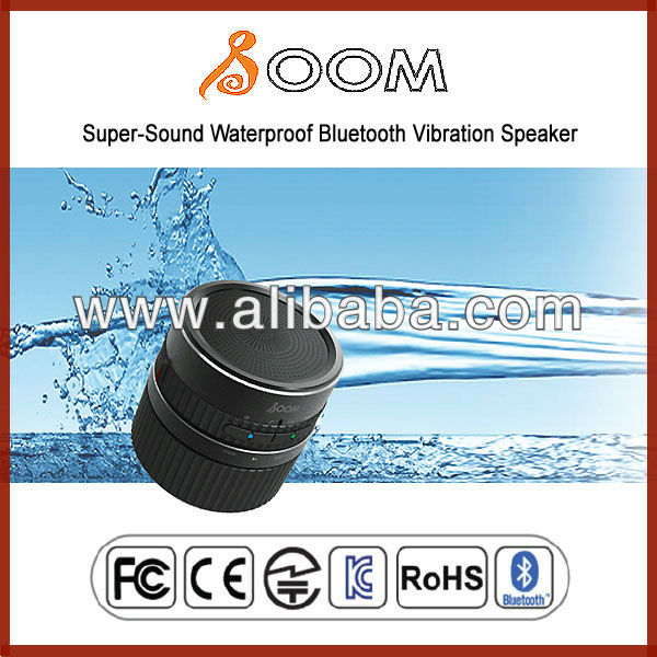 2013 Super-Sound Waterproof Bluetooth Vibration Speaker