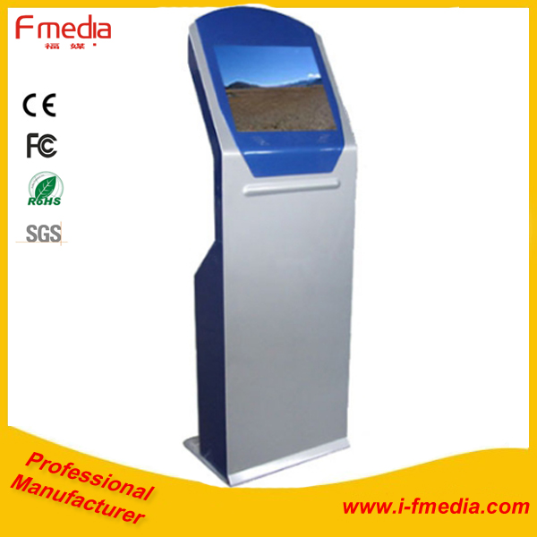 17 inch stainless metal/coin acceptor/dispenser credit <strong>payment</strong> kiosk