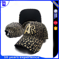 The new style baseball caps wholesale full cotton free lady hat
