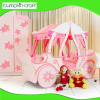 Economical Price Quality Choice Princess Carriage Full Bed