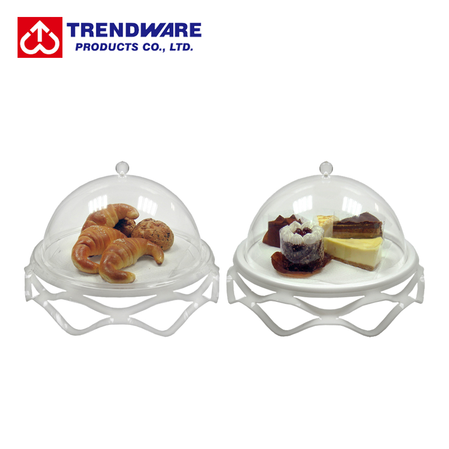 Bakery Donuts Cupcake Pastry Sample Display Tray with Cover