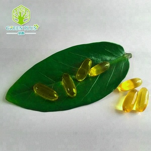 100% Natural vitamin e softgel from GMP/ISO China manufacturer