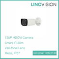 1MP 2.7-12mm vari-focal lens HDCVI IR Bullet Camera support HD and SD output switchable
