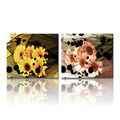 Daisy Flower Picture Canvas Wall Art Modern Canvas Prints,Blooming Flower Canvas Digital Photo Prints,2-Panel Decorative Canvas