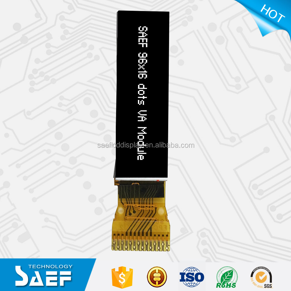 Custom-made 96x16 lcd module/Price lcd display/Wholesales lcd panel