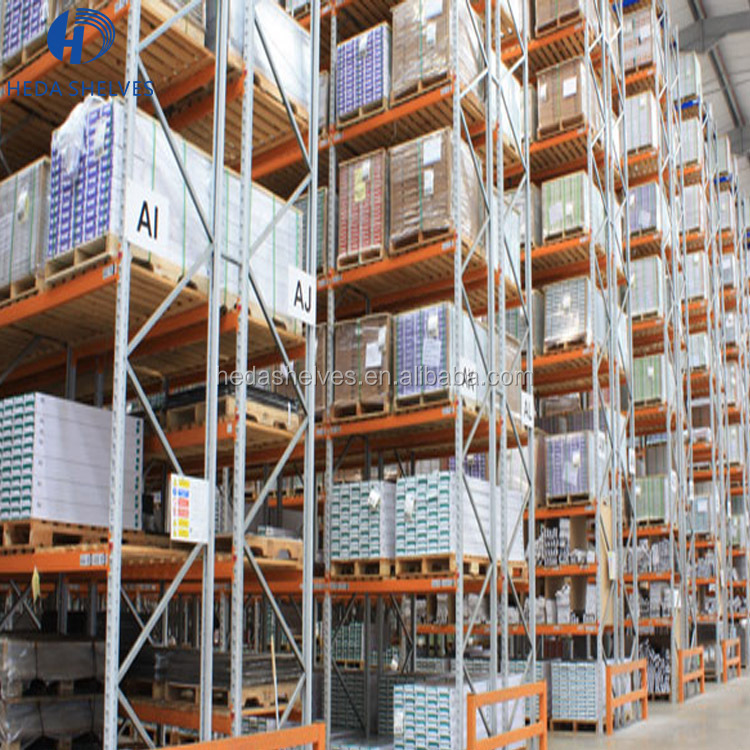 New product 2017 China Factory Price Steel Selective Heavy Duty Warehouse Pallet Rack