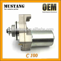 Powerful Motorcycle Engine Parts C100 Motorcycle Starter Motor