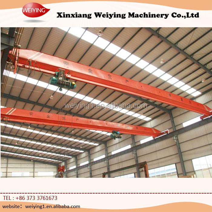 Mechanical Workshop Equipment Bridge Crane 2 Ton
