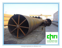 API 5L X70 Longitudinally Submerged Arc Welding LSAW fluid pipe used in oil and gas area