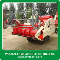 A new generation agriculture machine of rice wheat combine harvester macihne made in china
