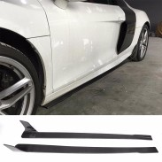 Car Carbon Fiber Front Diffuser for Audi R8 V8 V10 GT Plus Coupe 2-Door