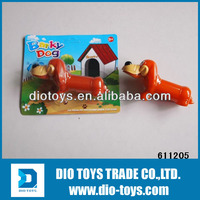 Classic Cartoon Dachshurd Dog With Whistle for Sale