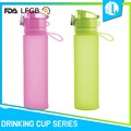 Hot sale portable great material new design silicone eco kids water bottle