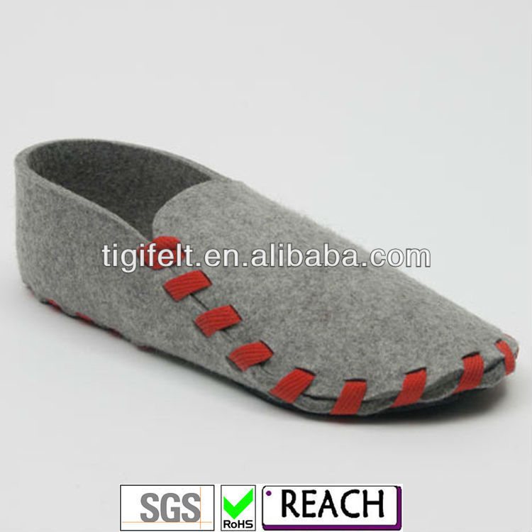 2013 Special New Style Wool Felt Shoes for Men