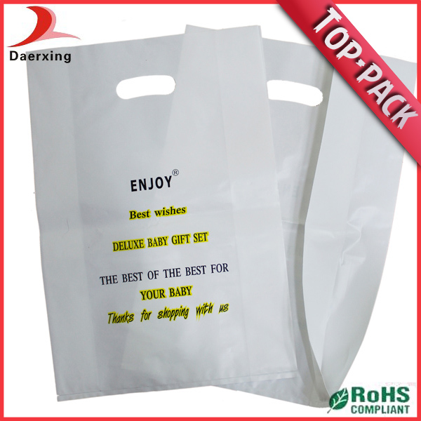 Custom shopping bag plastic autoclave bags