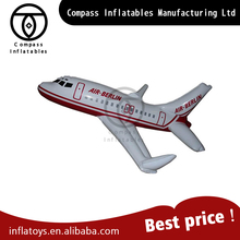 2016 New Design Model Type Customized Inflatable Air Plane Decoration