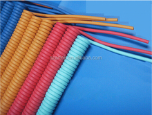 Pure copper 26AWG Matt PU coiled cable heaters For Military