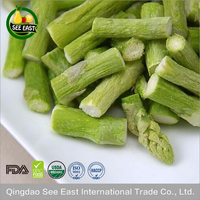 Golden Supplier New Harvest Organic Freeze Dried Vegetables FD Asparagus