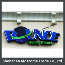 2014 Hot Sale LED Outdoor advertising acrylic letter signs for indoor or outdoor light box