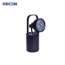 RECEN 3 years warranty IP65 9w Rechargeable LED Portable multifunctional glare explosion-proof searchlight RST8208