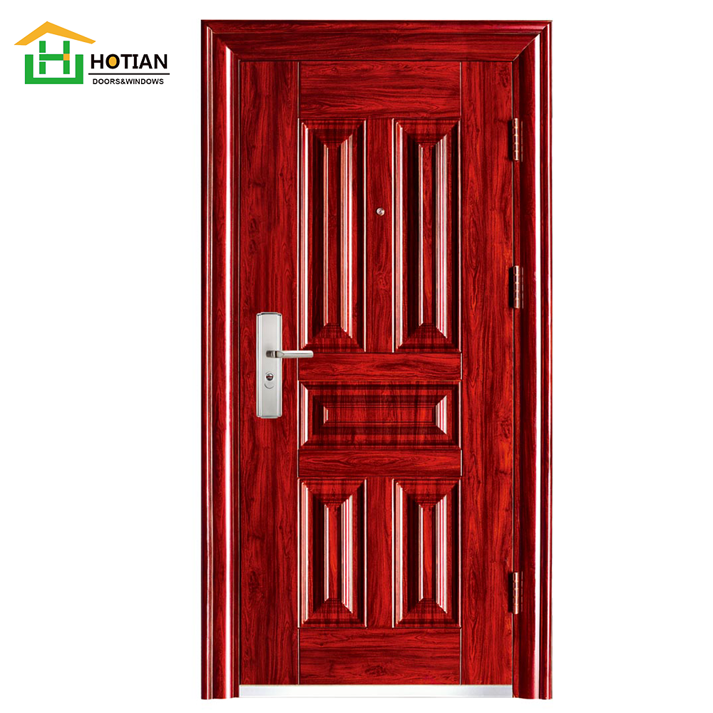 High Quality Insulated Steel Entry Door Endurable Safe Residential