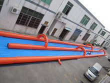 2015 New 1000ft Slip And Slide For Adults , Slide The City , Cheap Inflatable Water Slide for sale