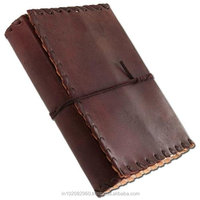 Stitched Edge Leather OR sketch book for git him or her