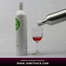 350ml frosted cocktail aluminum wine bottles with tin cap