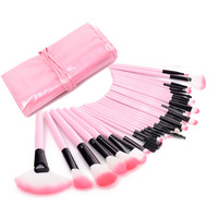 AIDEN- Makeup brushes 32 pcs Superior Professional Pink Cosmetics make up brush set Woman's pincel kabuki kit