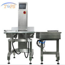 Protein packing line weight checking machine