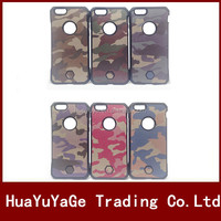 phone cases Army Camo Camouflage 2 in 1 Hard cover Dual Hybrid Protective case for Apple iPhone 6 Plus 6S Plus