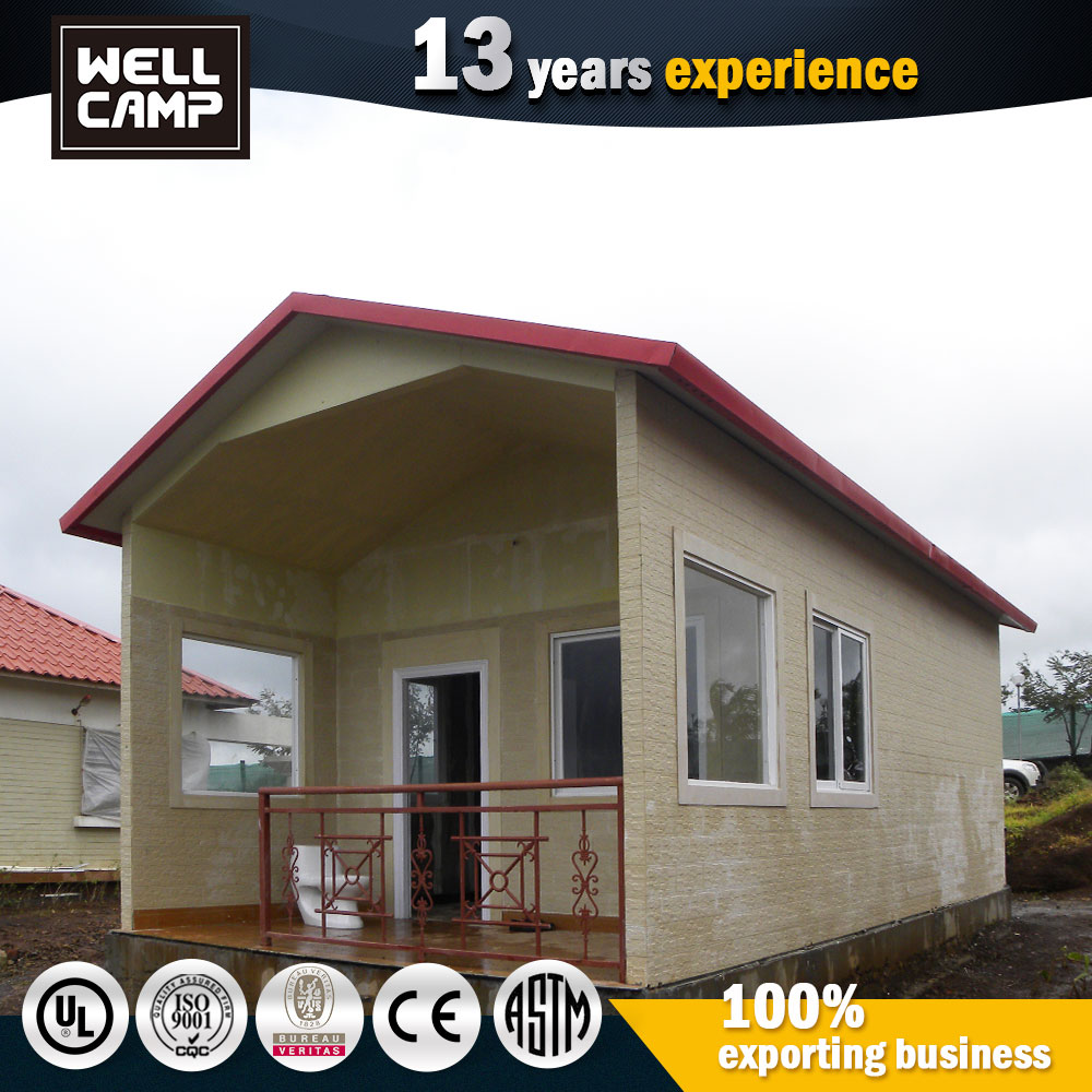 China Manufactured Ready Assemble Steel Framed Luxury Prefab Small Homes Plans