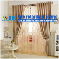 Free Sample 6 Years Flame Retardant Jacquard Velet Fabric For Curtain, Sofa, Hotel Carpet