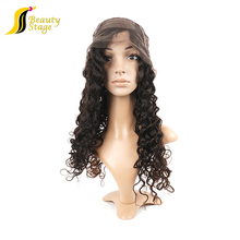 Grade 7a human hair 100% unprocessed german lace wig, Unprocessed small head wig