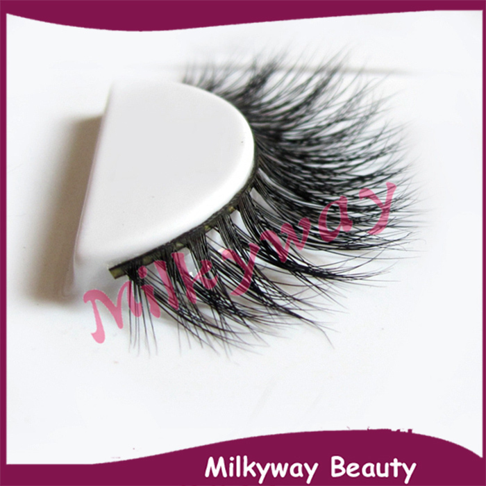 100% Real Mink Eyelash With Customized Packaging Box 100% Hand Made false mink lashes