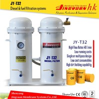 JY-T32 High precision diesel oil particulate filter system for fishing industry with polymer membrane filtration technology